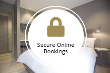 secure bookings