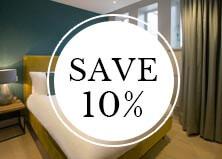 save 10 percent